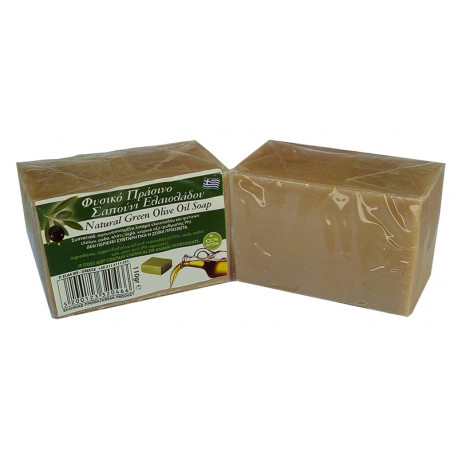 Natural Green Olive Oil Soap (110 gr)