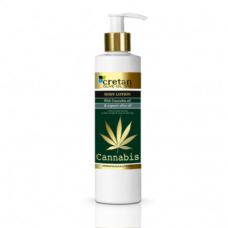 Body Lotion With Cannabis oil (250ml )