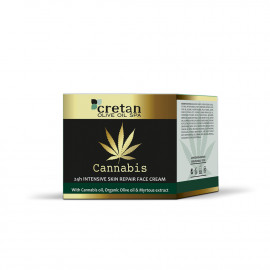 24H SKIN REPAIR FACE CREAM  With Cannabis oil (50ml)