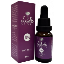 CBD Isolated Drops 10% (15ml)