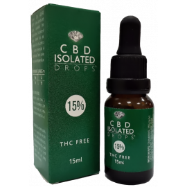 CBD Isolated Drops 15% (15ml)
