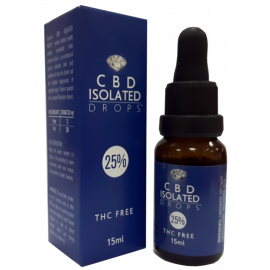 CBD Isolated Drops 25% (15ml)